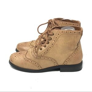 Forever 21 Wingtip Boots